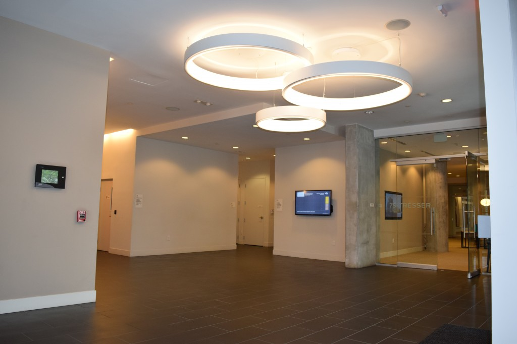 75 Tresser Lobby Area