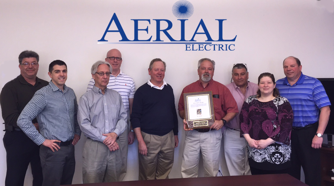 Roland St. Germain and the Aerial Leadership Team!