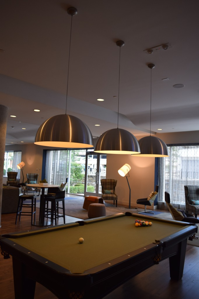 Billiards Area at 75 Tresser in Stamford, CT