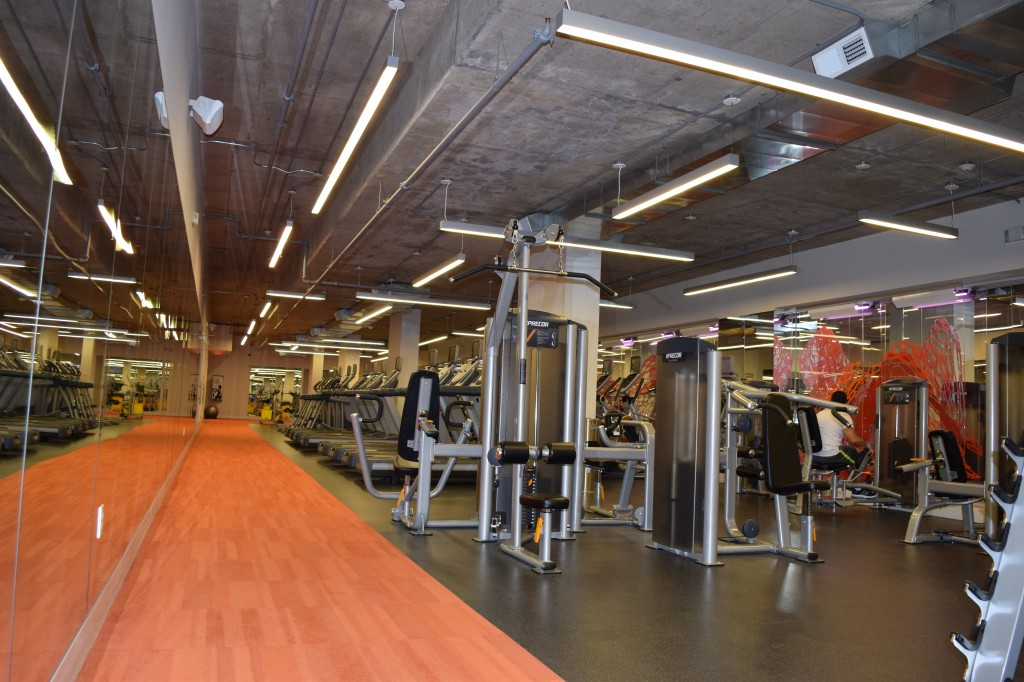 Fitness Area at 75 Tresser in Stamford CT