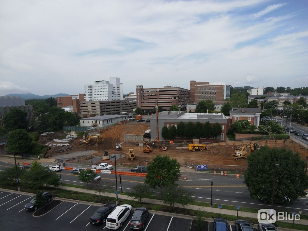 University of Virginia  Construction Cam - 6/18/15