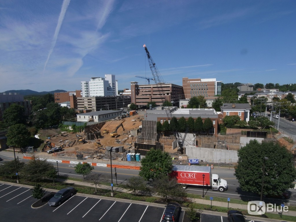 University of Virginia  Construction Cam - 8/21/15