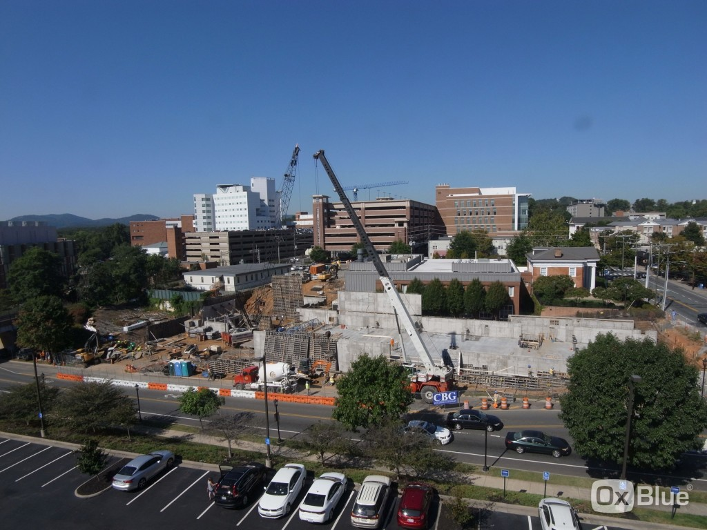 University of Virginia  Construction Cam - 9/17/15