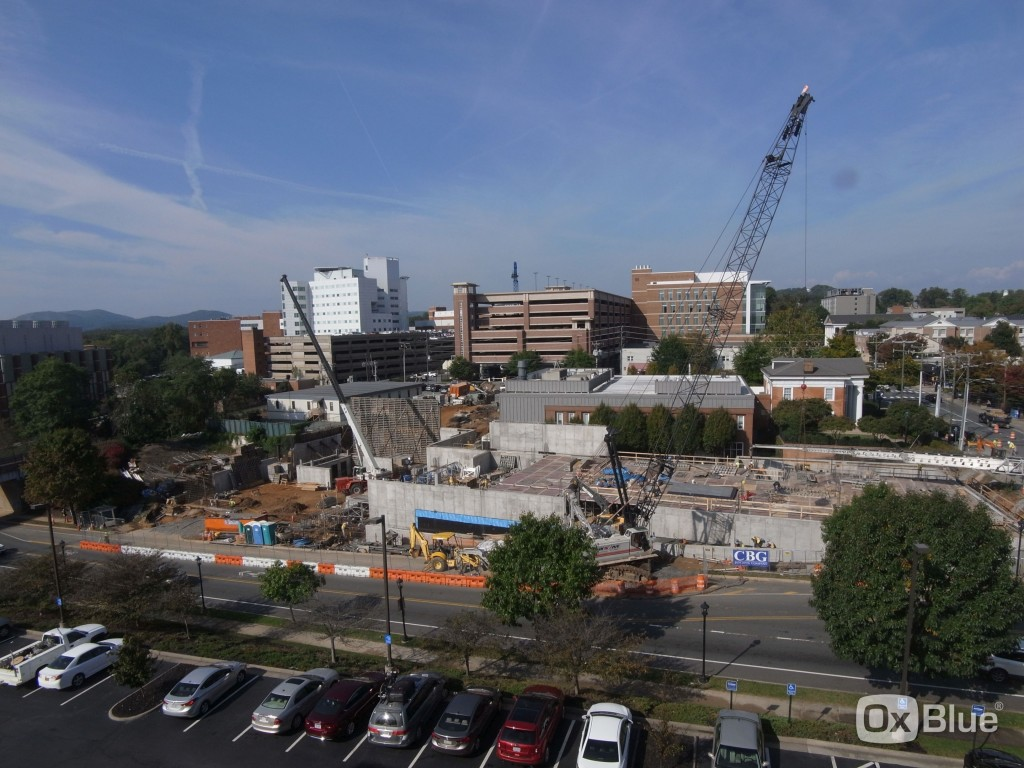 University of Virginia  Construction Cam - 10/8/15